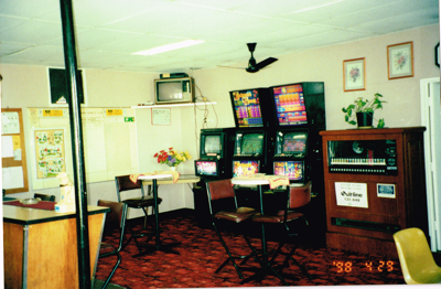 1998 - Bar area where cold room is